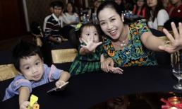 Hai con Ốc Thanh Vân làm 'lu mờ' nhan sắc của mẹ