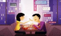 Bộ tranh 'khoảnh khắc vợ chồng hạnh phúc' ai cũng hằng mong ước