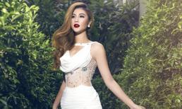 Kim Dung đẹp mê hồn khi diện váy dạ hội trắng