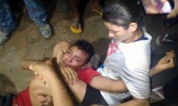Bị đánh hộc máu mồm vì 'cướp nhầm' phải nữ võ sĩ