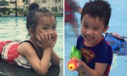 Con Ốc Thanh Vân siêu nhắng nhít ở hồ bơi
