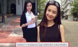Hotgirl Việt xinh đẹp mặc trang phục nữ sinh Thái khiến fans mê mẩn