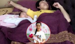 Lê Kiều Như khoe dáng ngủ 'cha nào con nấy' của chồng và con gái