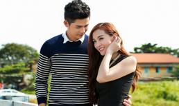 Kelly Nguyễn e ấp hạnh phúc bên Ray Võ