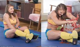 Người phụ nữ nghiền nát dưa hấu bằng đùi nhanh nhất thế giới