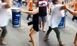 Cắn đứt ngón tay nhân tình của chồng trong vụ đánh ghen