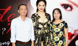 Hương Giang Idol hạnh phúc khoe bố mẹ