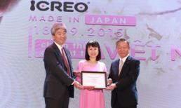 Công ty SnB công bố phân phối độc quyền sữa Glico ICREO tại Việt Nam