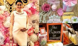 Mỹ nhân đẹp nhất Philippines tổ chức tiệc đón công chúa sắp chào đời