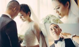 Lộ ảnh hậu trường đám cưới 7 tỷ của Ngọc Thạch và đại gia Hà thành