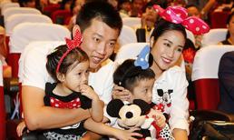 Ốc Thanh Vân hiếm hoi khoe chồng tại sự kiện