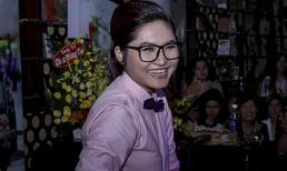 Vicky Nhung bối rối khi được khen 'đẹp trai'
