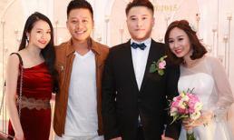 Vợ chồng Tuấn Hưng rạng rỡ chúc mừng đám cưới Vũ Duy Khánh