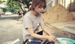 Ảnh rửa bát của 'Hot girl ảnh thẻ' Việt Nam khiến báo Thái ngỡ ngàng