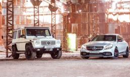 Bộ đôi Mercedes-Benz AMG C 63 S Edition 1 và G 500 Edition 35 trình làng tại VMS 2015