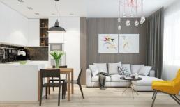 Hai căn hộ 45m² 'chuẩn không cần chỉnh' cho vợ chồng trẻ