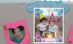 Tiệc 'sinh nhật hồng' siêu đáng yêu của cậu cả nhà Lý Hải