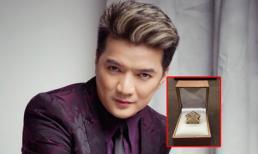 Cận cảnh chiếc nhẫn 'khủng' của Mr Đàm được tặng sinh nhật muộn