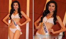 Hoa hậu Quốc tế 2015: Đại diện Việt Nam diện bikini khoe đường cong hút mắt