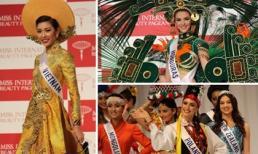 Mãn nhãn trước quốc phục đa sắc màu của người đẹp Hoa hậu Quốc tế 2015
