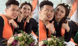 Hé lộ hậu trường chụp ảnh cưới của Hoa hậu Diễm Hương tại Đà Lạt