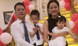 Phan Thị Lý hạnh phúc bên chồng đại gia và hai con