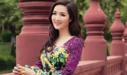 Hoa hậu Giáng My yêu kiều trong loạt ảnh mới