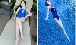 Quỳnh Thư mặc bikini khoe dáng ngọc