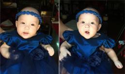 Con gái Trịnh Kim Chi đáng yêu như thiên thần