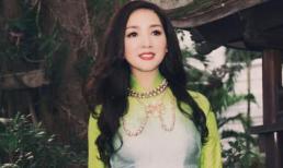 Hoa hậu Giáng My khoe vẻ đẹp nền nã khi diện áo dài