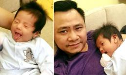 Con gái Tự Long đáng yêu và kháu khỉnh tròn một tháng tuổi