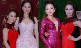 Xuân Nguyễn đọ sắc với hoa hậu Mai Phương Thúy và Tóc Tiên  trong tiệc thần tiên