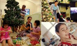 Sao Việt rộn ràng chuẩn bị cho lễ Giáng sinh
