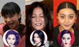 Những khoảnh khắc xấu tệ của mỹ nhân Hoa ngữ
