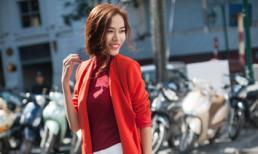 Siêu mẫu Thoại Tiên gây ấn tượng với phong cách thời trang sành điệu