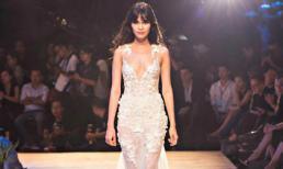 Quỳnh Chi sắc lạnh tham gia show thời trang Đỗ Mạnh Cường