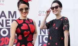 Hồng Nhung, Diễm My 'gây thương nhớ' với váy họa tiết trái tim