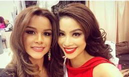 Trượt khỏi top 15, Phạm Hương vẫn kêu gọi ủng hộ cho Hoa hậu Dominica
