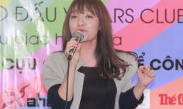 Nhật Thủy 'quậy tưng bừng' trong đêm Gala dinner ra mắt V-Stars