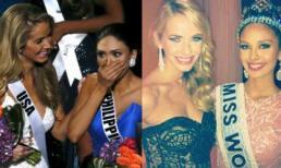 Hành xử đẹp của Hoa hậu Mỹ 2 lần thua người Philippines