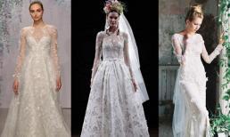Váy cưới có tay, 'trợ thủ' đắc lực cho cô dâu trong mùa lạnh