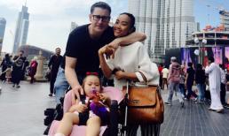Gia đình Đoan Trang tung tăng đi du lịch ở Dubai