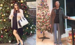 Ngọc Quyên đón Noel bên mẹ, tiếp tục vắng bóng chồng