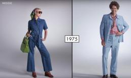 Sự thay đổi thời trang của phụ nữ và nam giới từ năm 1925