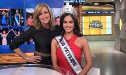 Tân Hoa hậu Hoàn vũ quyết không chia sẻ vương miện với người đẹp Colombia