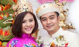 Đính hôn sau, Vân Trang lại cưới trước Victor Vũ