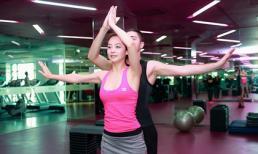 Jennifer Phạm ráo riết tập luyện cho Bước nhảy hoàn vũ