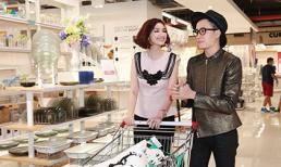 Trúc Diễm 'trốn ông xã' đi mua sắm cùng Lương Mạnh Hải