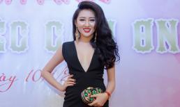 Huỳnh Thúy Anh diện 'cây đen' chúc mừng sinh nhật Kim Thanh Thảo