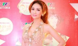 Xuân Nguyễn đẹp như nữ hoàng trên thảm đỏ bài hát Việt